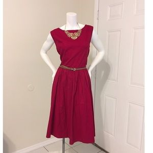 🌶NWT Lindy Bop Red Flare Dress🌶Tag Size: 2XL